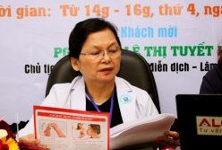 PGS.TS.BS Lê Thị Tuyết Lan tư vấn phòng và điều trị bệnh hen suyễn ở trẻ